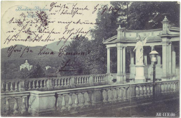 Baden-Baden Echo - Statue