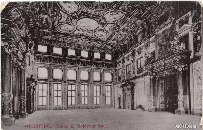 Augsburg Rathaus, Goldener Saal