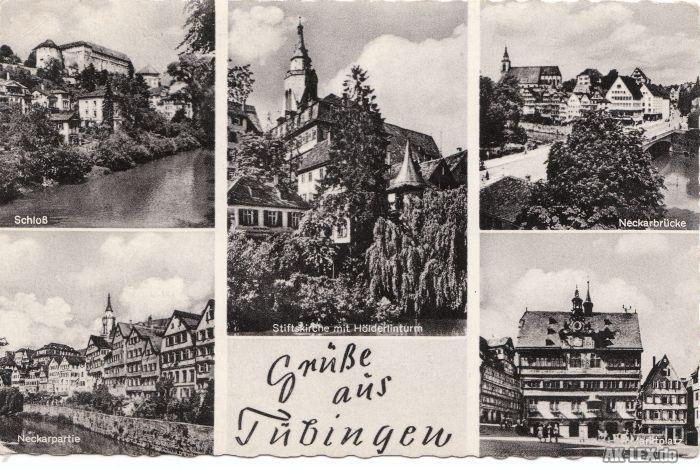 Tübingen Mehrbildkarte