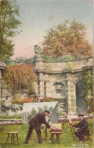 Ansichtskarte Innere Altstadt-Dresden Nymphenbad im Zwinger ca 1914 1914
