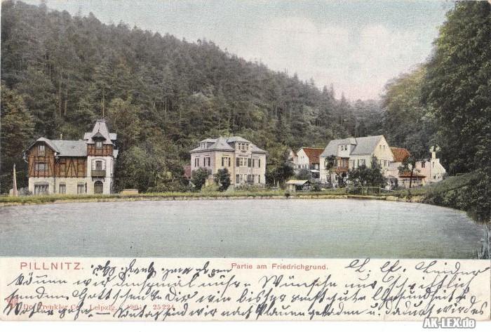 Pillnitz Partie am Friedrichsgrund