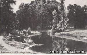 I.I. Schichkine. Der Teich in einem alten Park - Gemälde