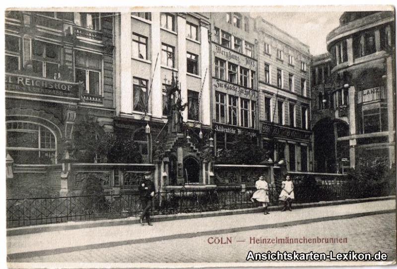 Köln Heinzelmännchenbrunnen