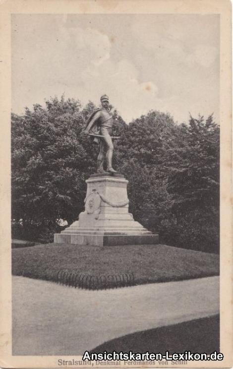 Stralsund Denkmal Ferdinands von Schill