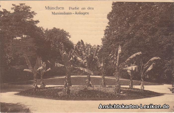 München Partie an den Maximilians-Anlagen