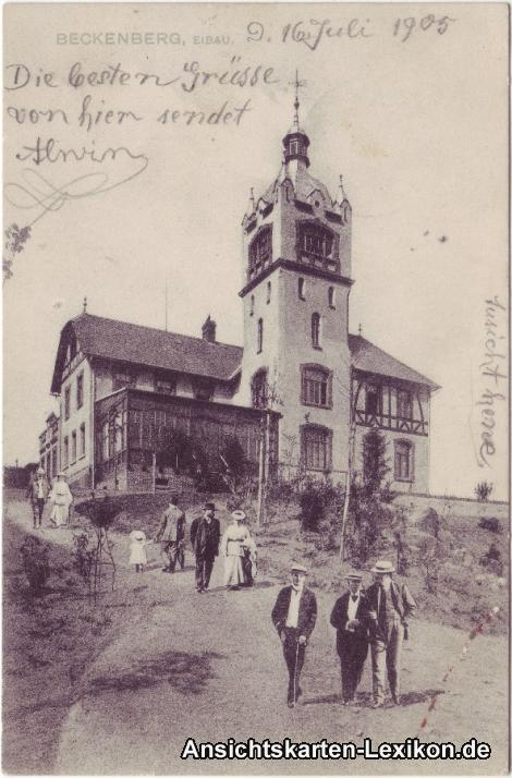 Eibau Beckenberg mit Gaststätte