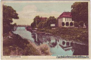 Oranienburg Partie an der Havel