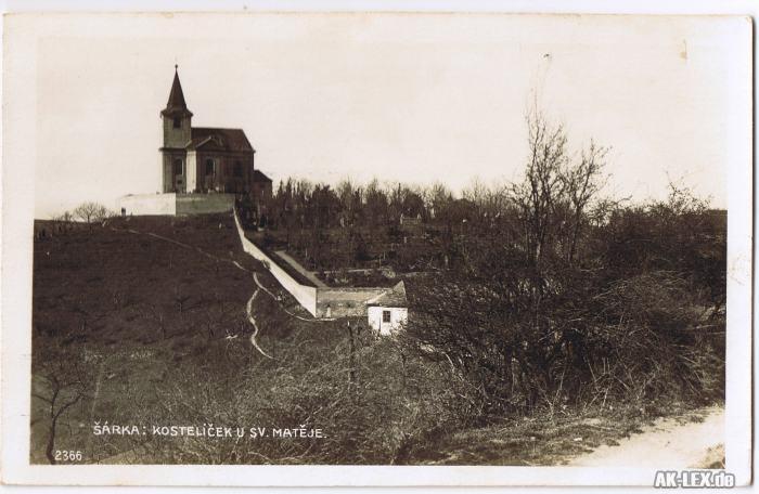 Prag Sárka Kostelicek u sv. Mateje