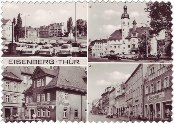 Eisenberg (Thüringen) Stadtteilansichten