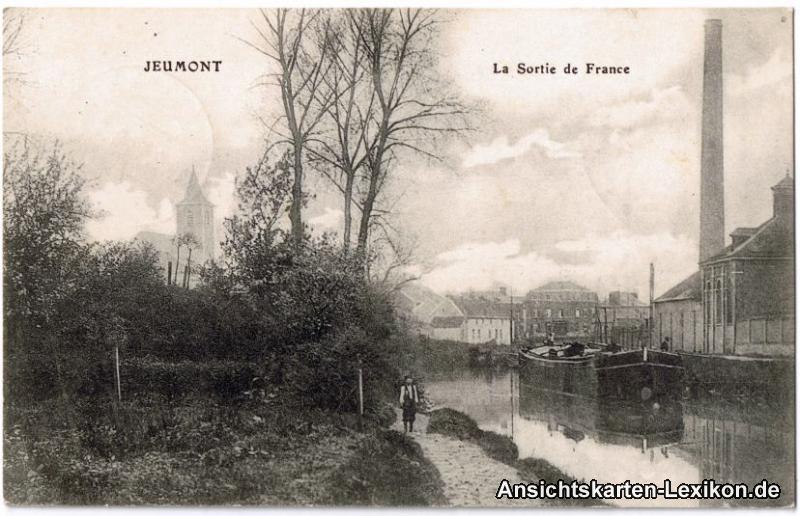 Jeumont La Sortie de France