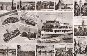 Überlingen Mehrbildkarte Bodensee