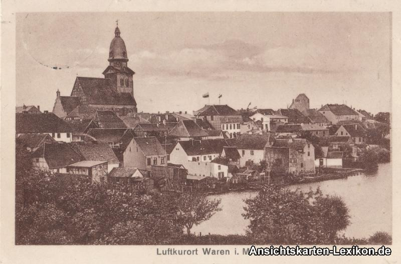 Waren (Müritz) Panorama