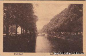 Düsseldorf Blick auf die Königsallee
