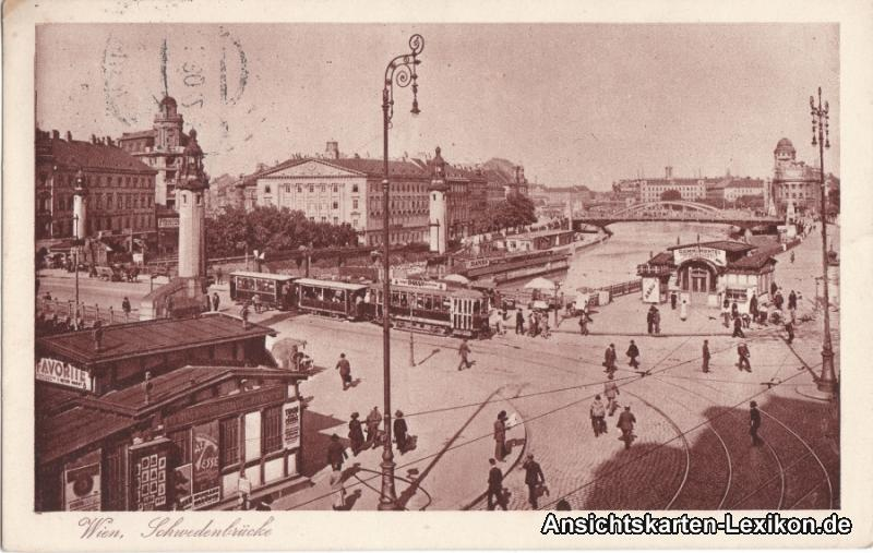 Wien Schwedenbrücke