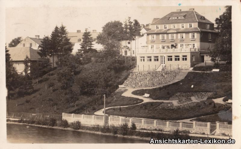 Rokitnitz (Adlergebirge) Teilansicht - Foto AK