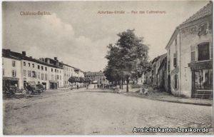 Salzburg (Lothringen) Ackerbau-Straße - Rue des Culivate