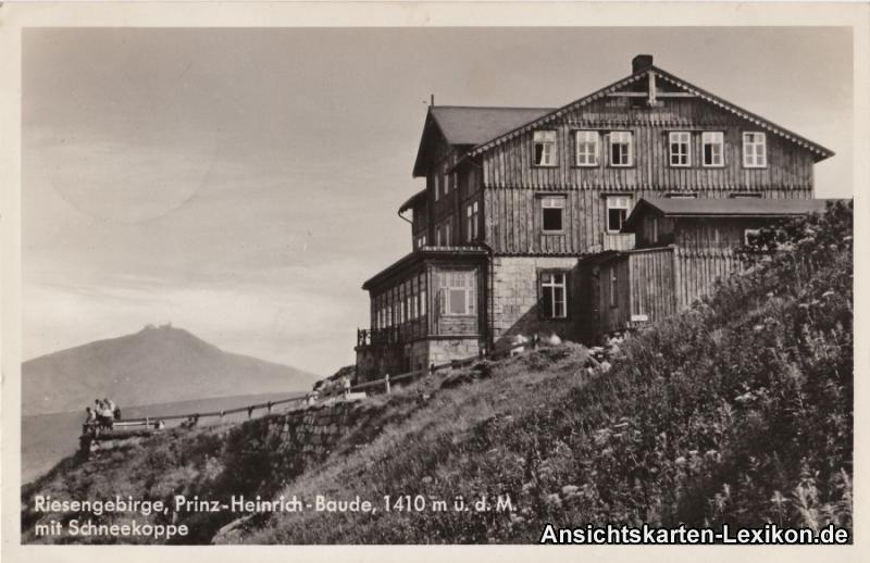 Krummhübel Prinz-Heinrich-Baude - 1410m