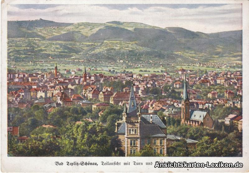 Teplitz - Schönau Bad Teplitz-Schönau, Teilansicht