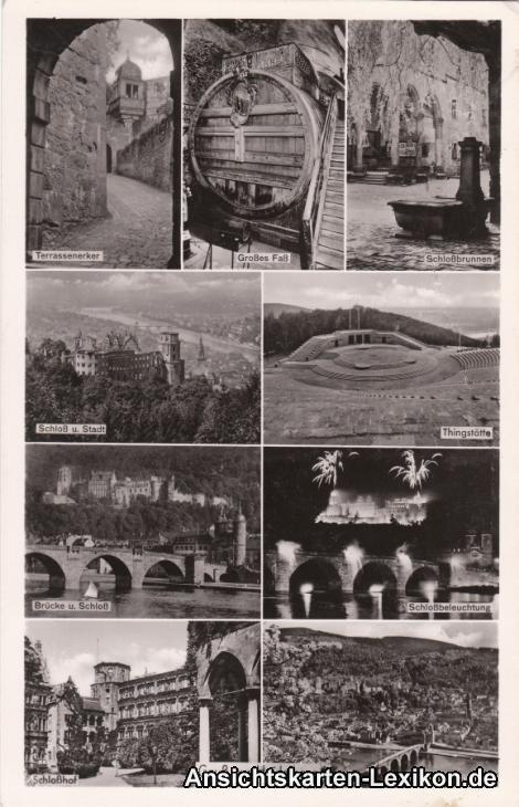 Heidelberg Mehrbildkarte
