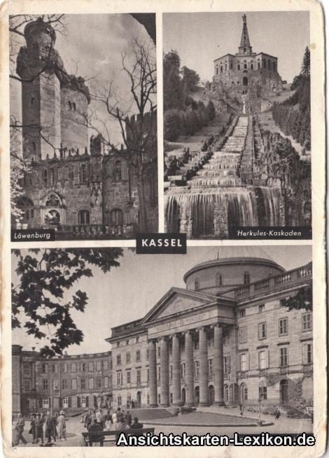 0 3 Bildkarte Wilhelmshöhe
