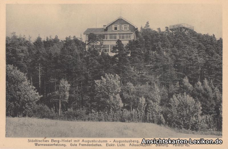 Bad Gottleuba-Berggießhübel Berg-Hotel auf dem Augustusb