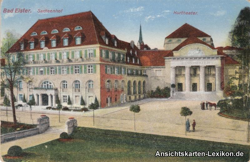 Bad Elster Hotel Sachsenhof und Kurtheater