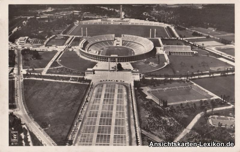 Berlin Charlottenburg-Wilmersdorf Luftbild - Gesamtansic