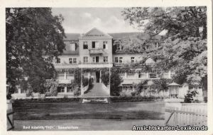 Bad Köstritz Sanatorium