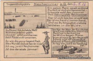Neuhammer Truppenübungsplatz