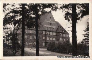 Oberwiesenthal Sachsenbaude - Ferienheim I.G. Wismut