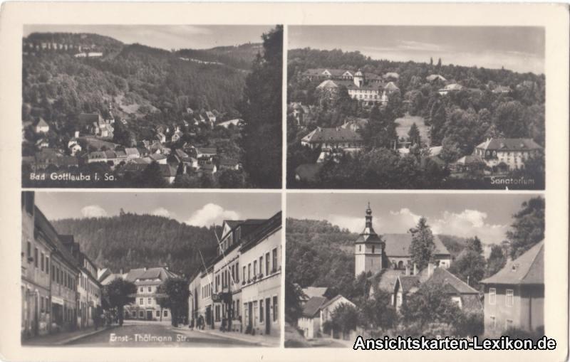 Bad Gottleuba-Berggießhübel Mehrbikdkarte