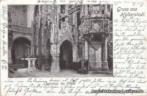 Halberstadt Gruß aus... Lettner im Dom.