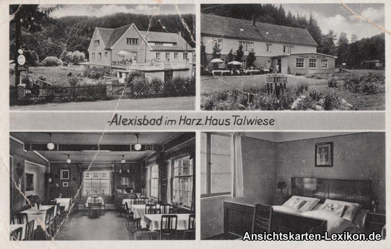 0 4 Bild AK Haus Talwiese innen und außen