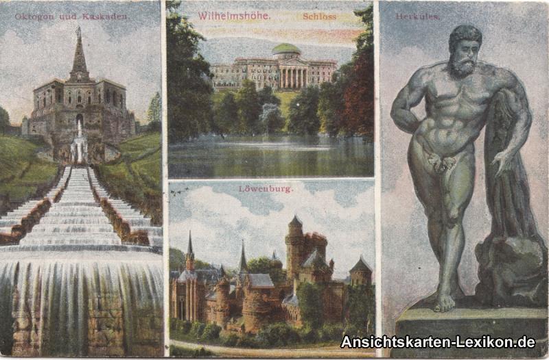 0 Mehrbildkarte - Wilhelmshöhe ua Löwenburg