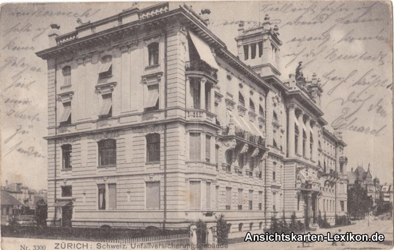 Zürich Schweizer Unfallversicherungsgebäude