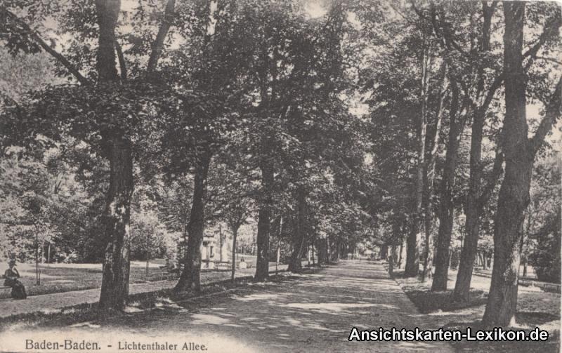 Baden-Baden Lichtenthaler Allee