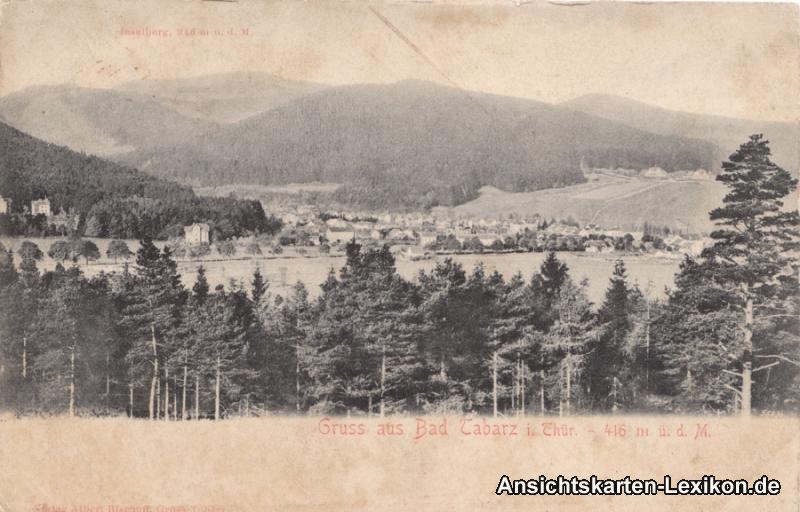 Tabarz/Thüringer Wald Totalansicht
