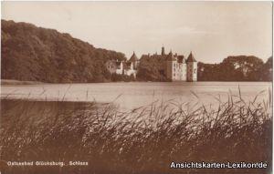 Glücksburg (Ostsee) Schloß - Foto AK