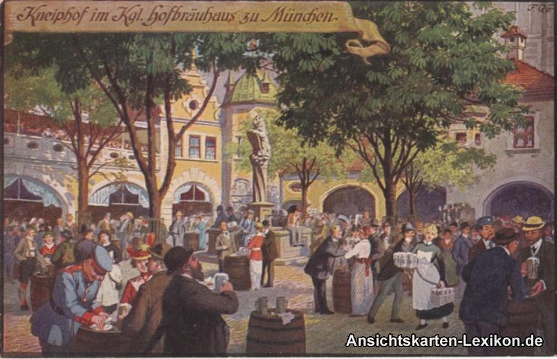 München Kneiphof im Kgl. Hofbräuhaus