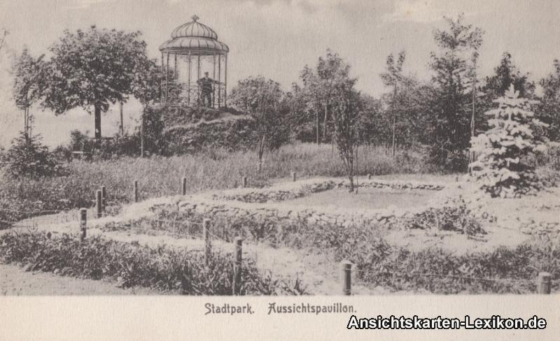 Münchberg Aussischtspavillion - Stadtpark