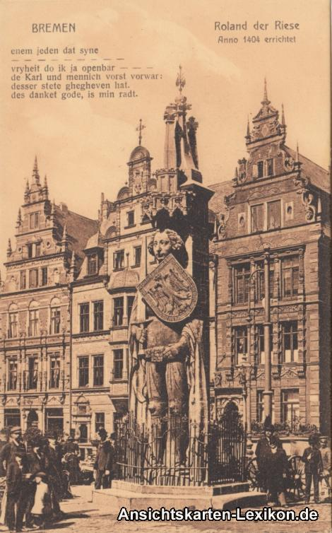 Bremen Roland der Riese