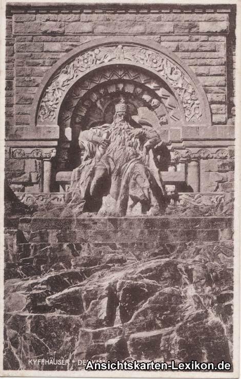 Kelbra (Kyffhäuser) Kyffhäuser-Denkmal, Barbarossa