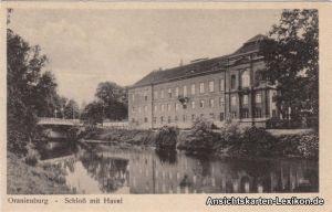 Oranienburg Schloß mit Havel
