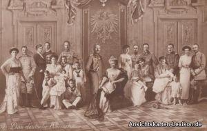 Das Deutsche Kaiserhaus - Gruppenfoto