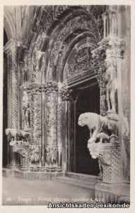 Trau Portal zborno opatske Crkve / Portal-Korps Abbatial