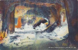 Ansichtskarte Saalfeld (Saale) Feengrotten-Märchendom 1927