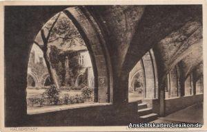 Halberstadt Liebfrauenkirche, Kreuzgang