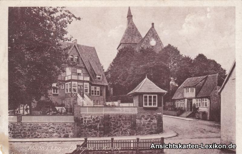 Mölln (Schleswig-Holstein) Pastorat und Kirche