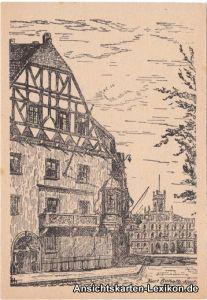 Weimar Fürstenkeller - Künstler AK