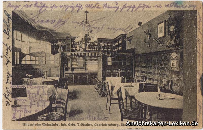0 Altdeutsche Weinstube - Innenansicht